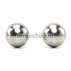 Вагинальные шарики Sex & Mischief Steele Balls - Фото №1