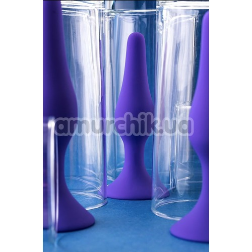 Анальная пробка A-Toys 761301, фиолетовая