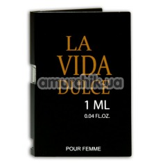 Духи с феромонами La Vida Dulce, 1 мл для женщин