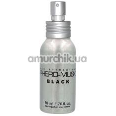 Духи с феромонами Phero-Musk Black для мужчин, 50 мл