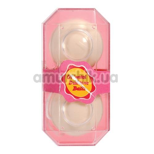 Вагинальные шарики Oriental Duotone Balls белые