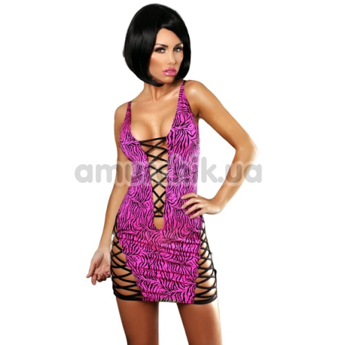 Платье Lolitta Zebra Dress, чёрное