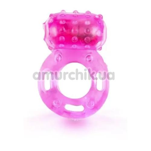 Виброкольцо Brazzers RC002, розовое - Фото №1