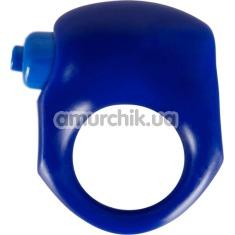Виброкольцо Blue Climax Silicone, синее - Фото №1