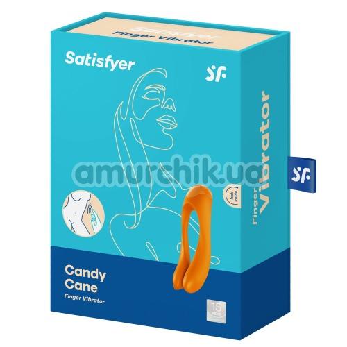 Вибратор Satisfyer Candy Cane, оранжевый