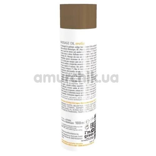 Массажное масло Shiatsu Massage Oil Erotic Jasmin & Argan Oil - жасмин и аргановое масло, 100 мл