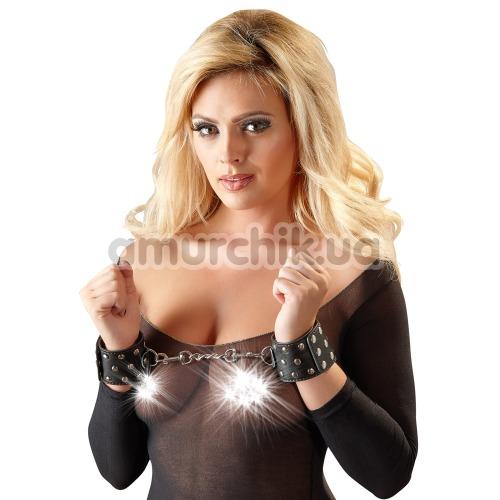 Фиксаторы для рук Bad Kitty Naughty Toys Shackle 2492059, черные