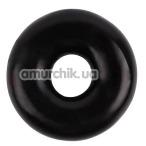 Эрекционное кольцо GK Power Fat O Cock Ring No.1, черное - Фото №1