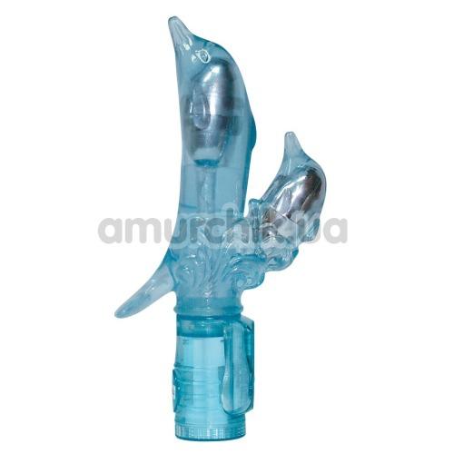 Вибратор Rabbit Double Dolphin