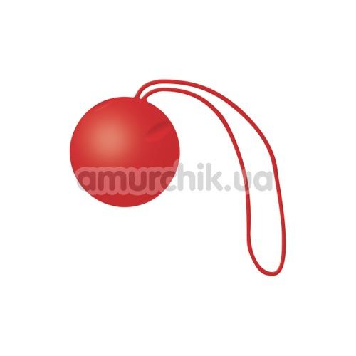 Вагинальный шарик Joyballs Single, красный - Фото №1