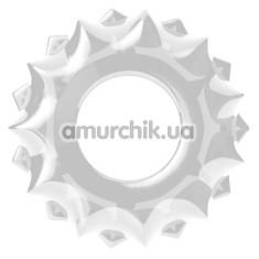 Эрекционное кольцо Power Plus Cock Ring Series LV1431, прозрачное - Фото №1
