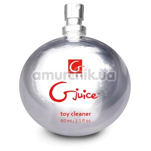 Антибактериальный спрей для очистки секс-игрушек Gvibe Gjuice Toy Cleaner, 60 мл