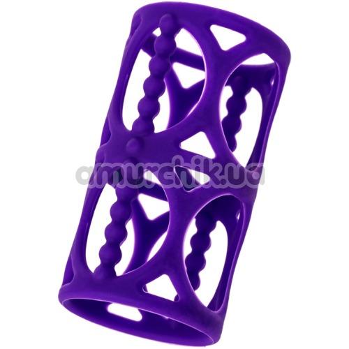 Насадка на пенис A-Toys Penis Extender 768003, фиолетовая - Фото №1