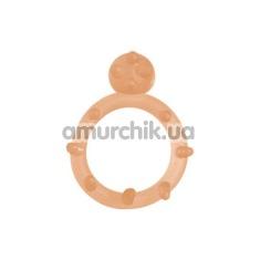 Эрекционное кольцо Grass&Co (модель 50010b), телесное - Фото №1