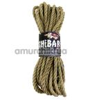 Веревка Feral Feelings Shibari 8м, светло-коричневая - Фото №1