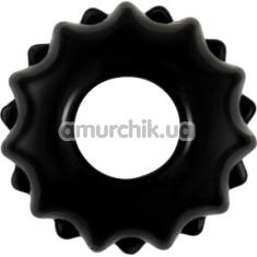Эрекционное кольцо Power Plus Cock Ring Series LV1431, черное - Фото №1