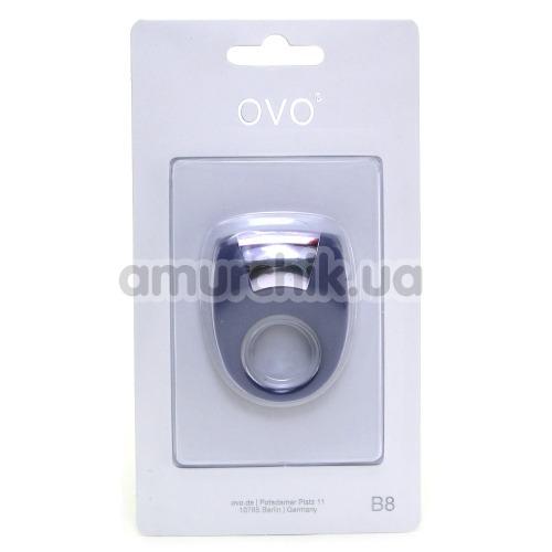 Виброкольцо OVO B8, фиолетовое