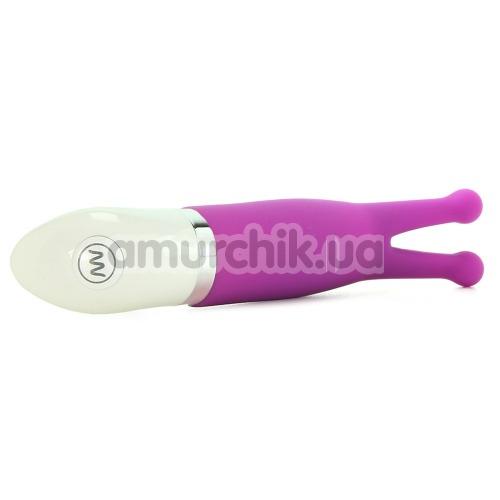 Клиторальный вибратор Crush Luv Bug, фиолетовый