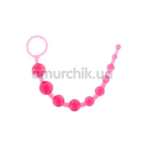 Анальные бусы Thai Toy Beads розовые