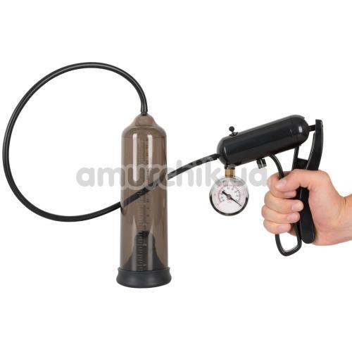 Вакуумная помпа Mister Boner Professionals Pump with Gauge, черная