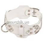 Ошейник sLash Vip Leather Collar, белый - Фото №1