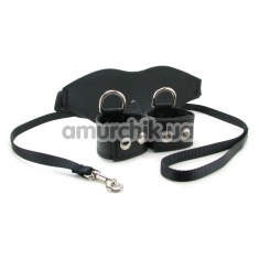 Бондажный набор Sex & Mischief Black Bondage Kit, черный - Фото №1