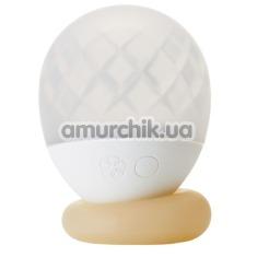 Вибратор-светильник Tenga Iroha Ukidama Take, белый - Фото №1