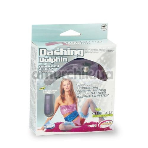 Клиторальный стимулятор Dashing Dolphin, розовый