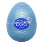 Мастурбатор Tenga Egg Wavy Cool Edition Волнистый  - Фото №1