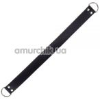 Ремешок для фиксаторов sLash Double Ring of Humiliti, черный - Фото №1