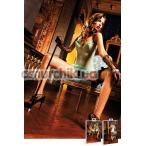 Комбинация Turquoise Green Ruffled Dress - Фото №1