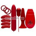Набор из 10 предметов Flirty Kit Set, красный