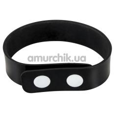 Эрекционное кольцо Silicone Cock Ring, черное