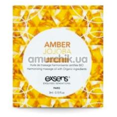Массажное масло Exsens Amber Jojoba - янтарь и жожоба, 3 мл - Фото №1
