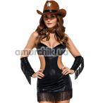 Костюм шерифа Obsessive Sheriffia, чёрный - Фото №1