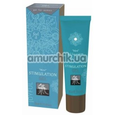 Гель для стимуляции клитора Shiatsu Stimulation Gel Mint, 30 мл - Фото №1