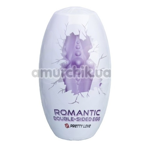 Мастурбатор Pretty Love Romantic Double-Sided Egg, фиолетовый