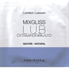 Лубрикант MixGliss Lub Natural, 4 мл - Фото №1