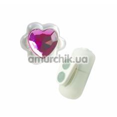 Клиторальный вибратор Power Gem Ticklers розовый - Фото №1