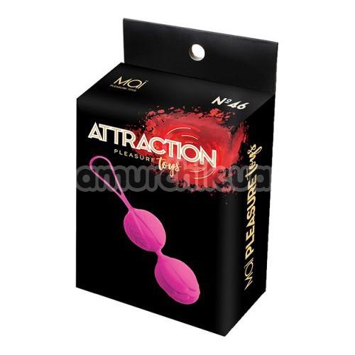 Вагинальные шарики Mai Attraction Pleasure Toys N46, розовые