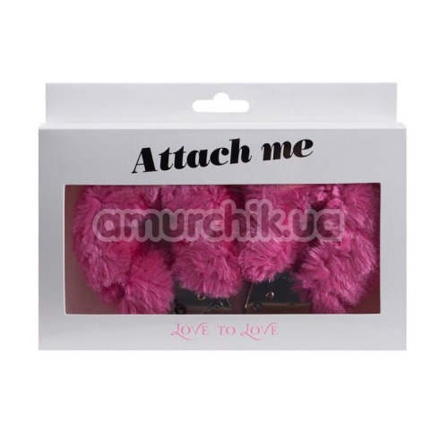 Наручники Love To Love Attach Me, розовые