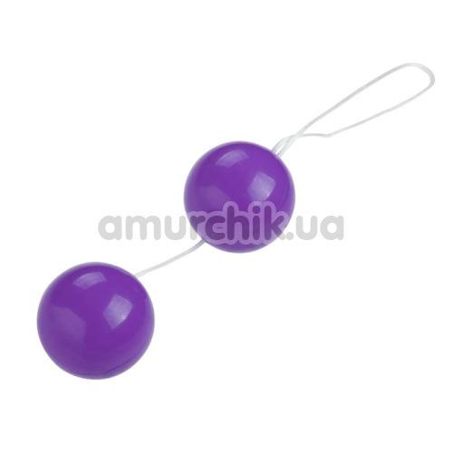 Вагинальные шарики Twins Ball, сиреневые - Фото №1