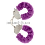 Наручники Furry Fun Cuffs, фиолетовые - Фото №1