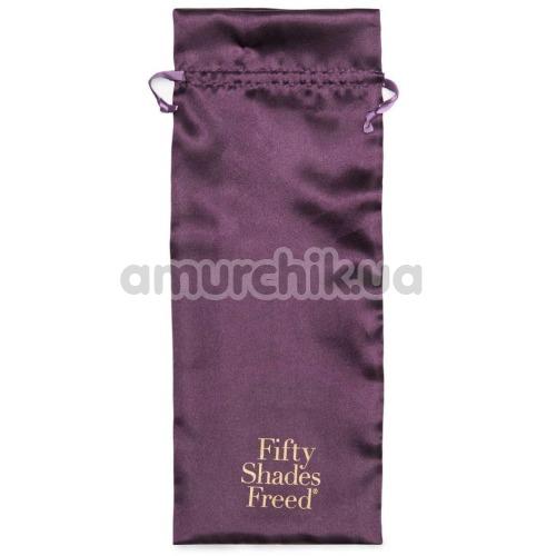 Вибратор клиторальный и точки G Fifty Shades Freed Lavish Attention, фиолетовый