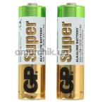 Батарейки GP Alkaline Super 15A-S2 AA, 2 шт - Фото №1