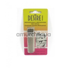 Духи с феромонами Desire Premium Blister Invisible без запаха, 5 мл для женщин - Фото №1
