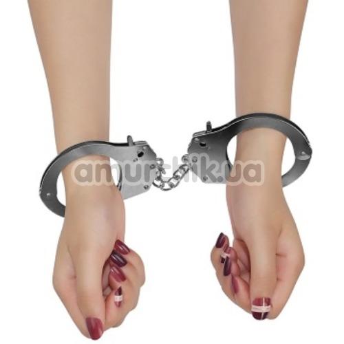Наручники Fetish Pleasure Metal Hand Cuffs, серебристые