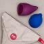 Менструальная чаша Fun Factory Fun Cup Menstrual Cup B, бордовая - Фото №6