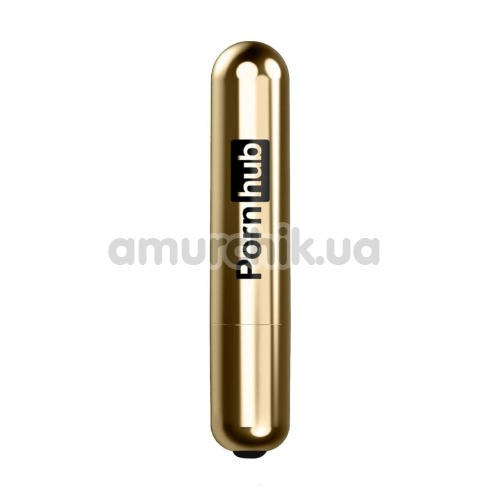 Клиторальный вибратор Pornhub Bullet, черный - Фото №1