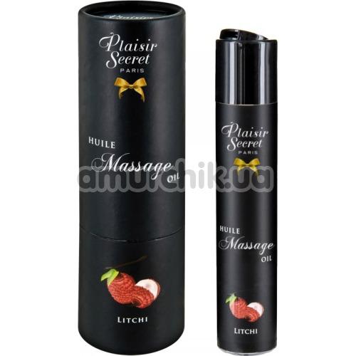 Массажное масло Plaisir Secret Paris Huile Massage Oil Litchi - личи, 59 мл